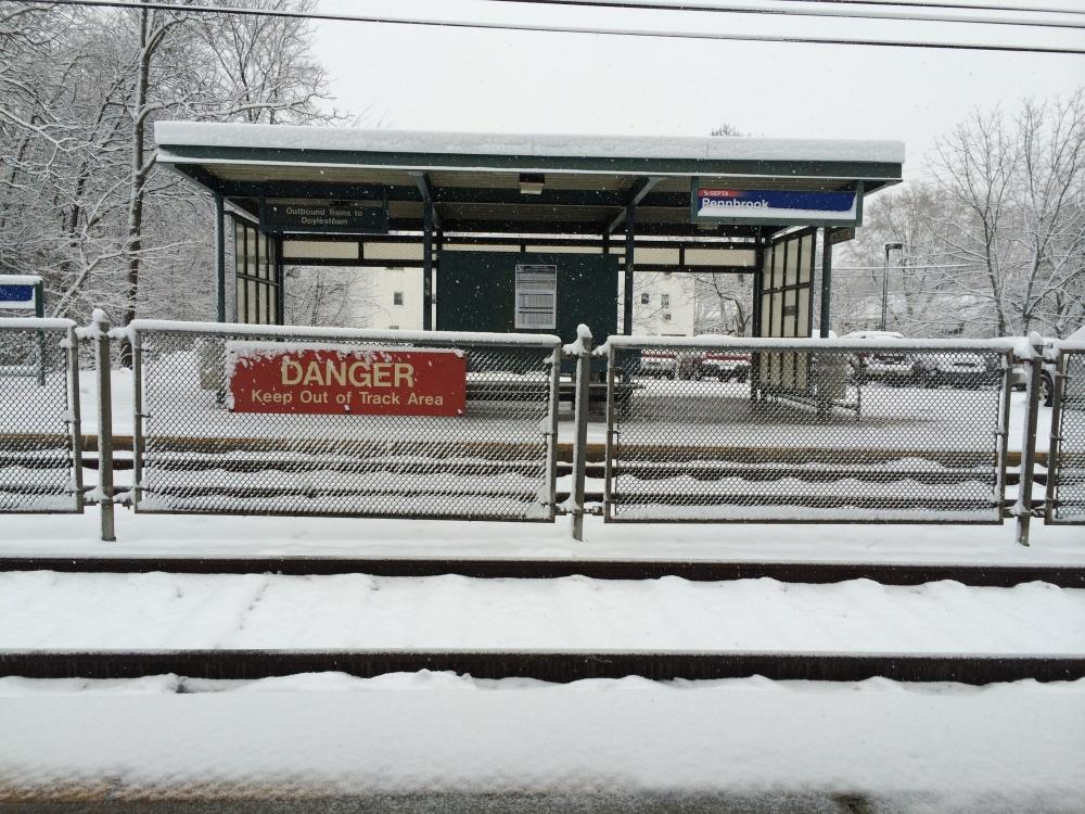SEPTA Pennbrooke Train Stop
