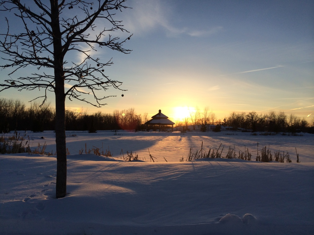 Sunset at Stoney Creek Park