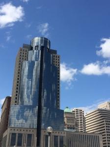 Cloud reflections in Cincinnati