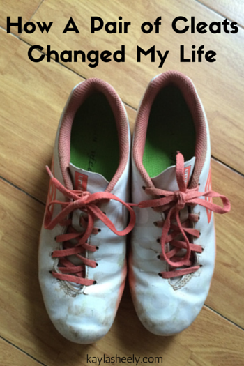 How a pair of cleats changed my life (1)
