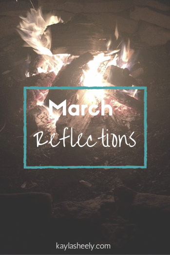 March Reflections