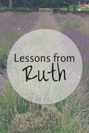 Lessons from Ruth