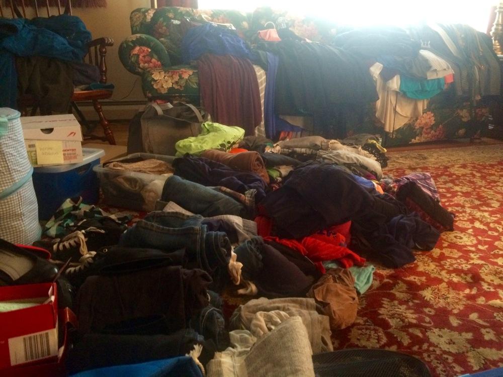 Purging my wardrobe