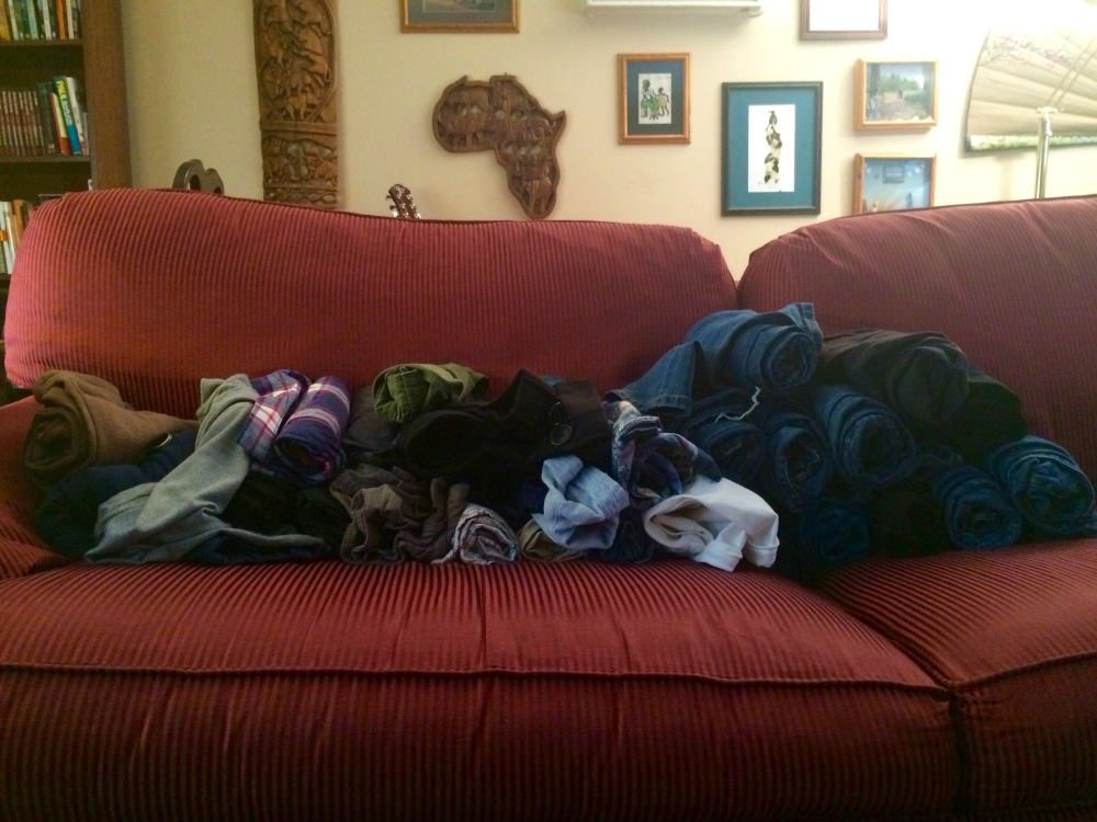 Too many pants :|