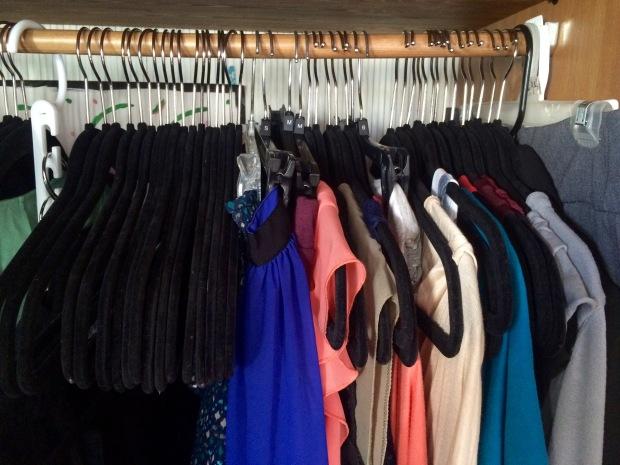 Emptier wardrobe