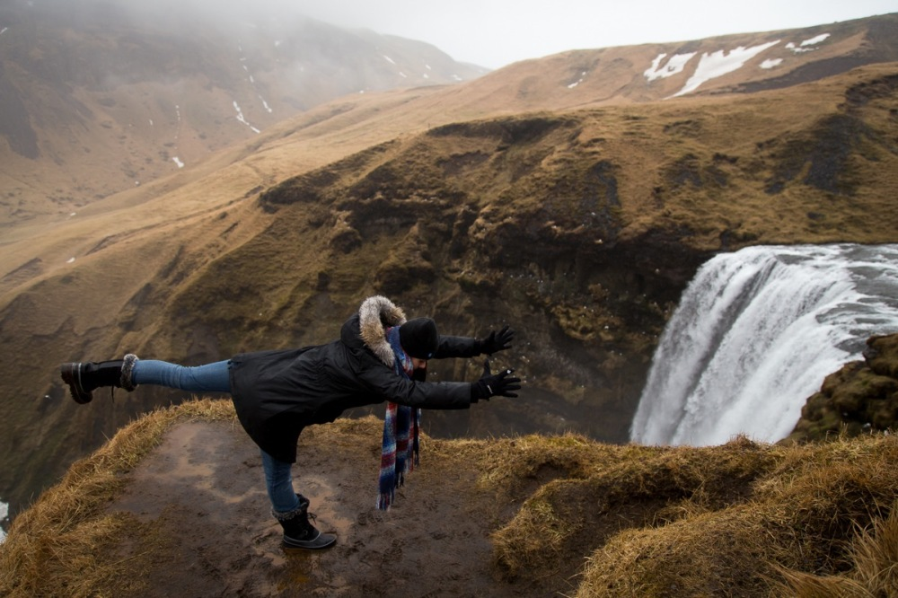 Yoga in Iceland