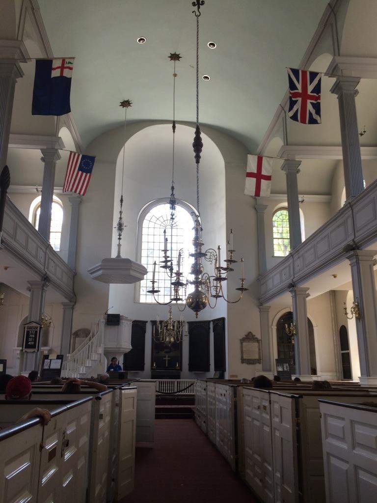 Exploring Boston, Old North Church