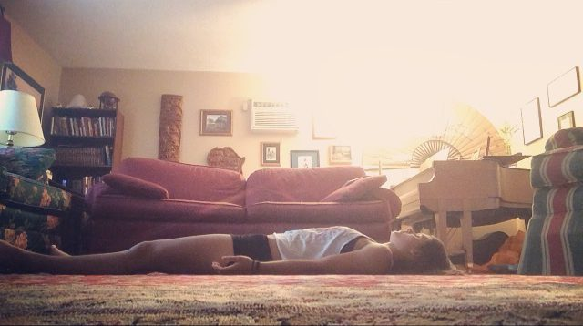 The hardest part of a yoga class: savasana