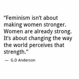 Why we need feminism