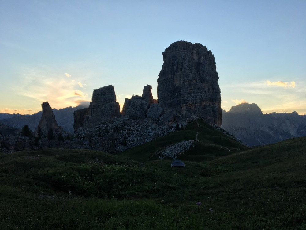 Rifugio in the Dolomites