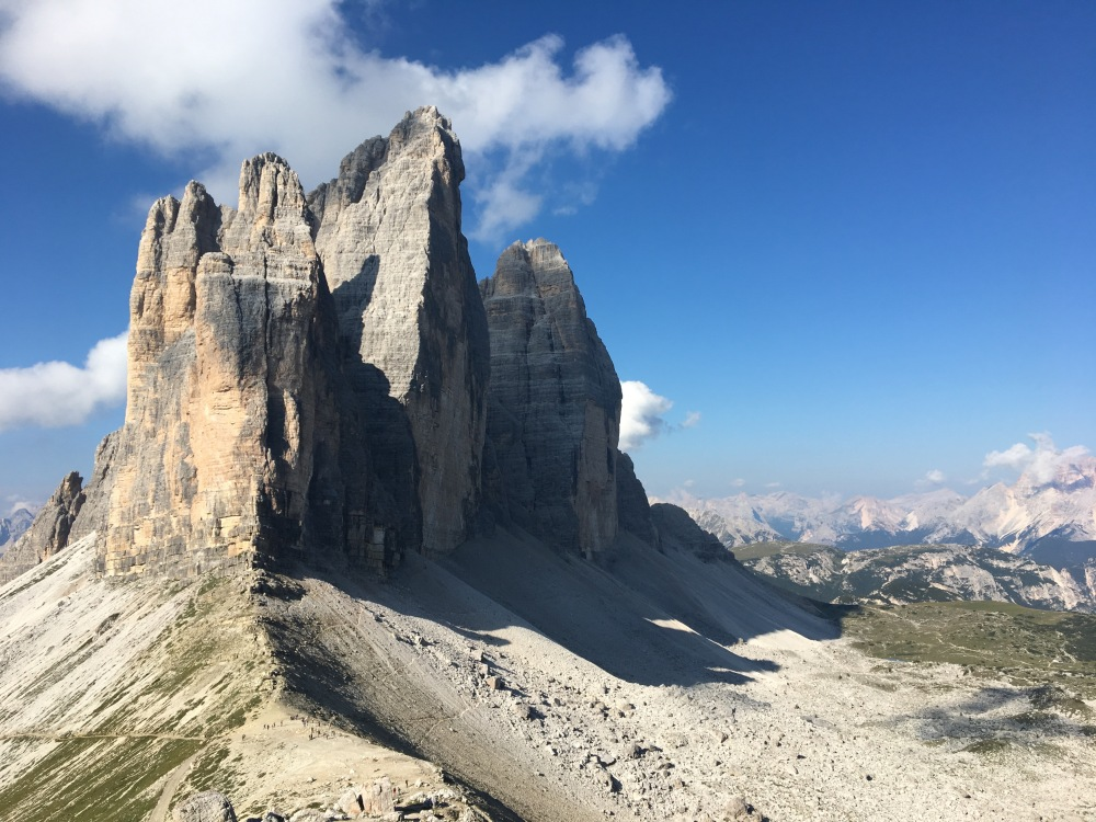 Tre Cime in the Dolomites