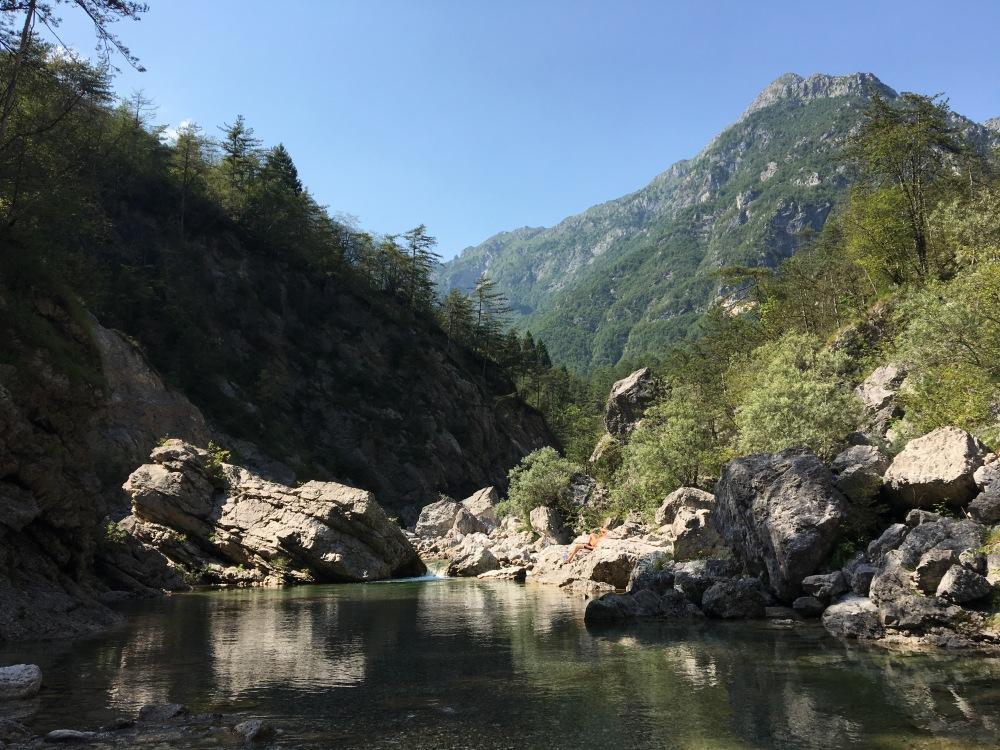Swimming in Meduno